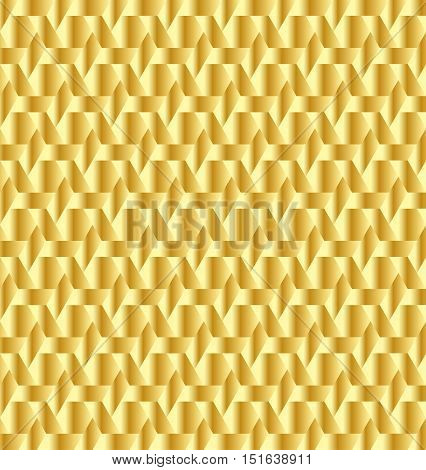 Abstract golden decorative background for any design process
