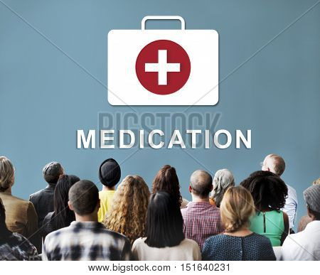 Medication Healthcare First Aid Concept