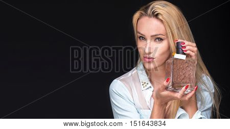 Woman With A Phial Of Perfume.