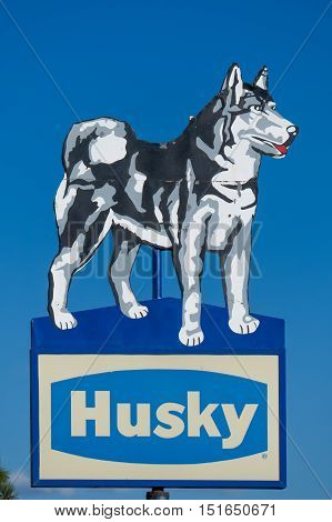 Husky Energy Sign And Logo