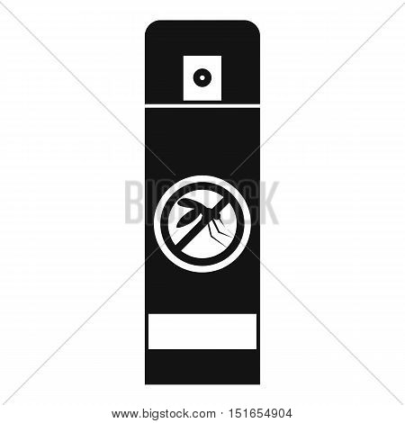 Mosquito spray icon. Simple illustration of mosquito spray vector icon for web