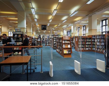 Central Library In Bristol