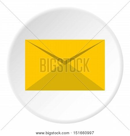 Paper letter icon. Flat illustration of paper letter vector icon for web