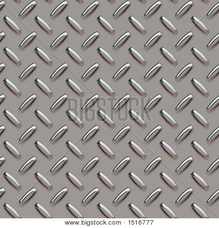 Grey Diamond Plate