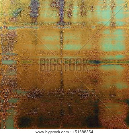 Elegant vintage background, antique texture. Designed grunge template with different color patterns: yellow (beige); brown; gray; green; blue; red (orange)