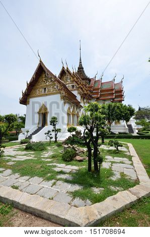 Middle Court Of Grand Palace Of Thailand