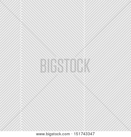 seamless monochrome pattern with diagonal lines to the right and left, made in vector