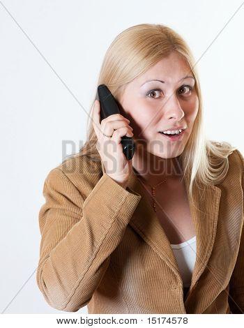 A phone conversation