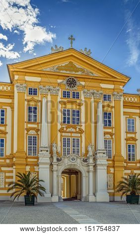 Melk Abbey is a Benedictine abbey above the town of Melk Lower Austria Austria.