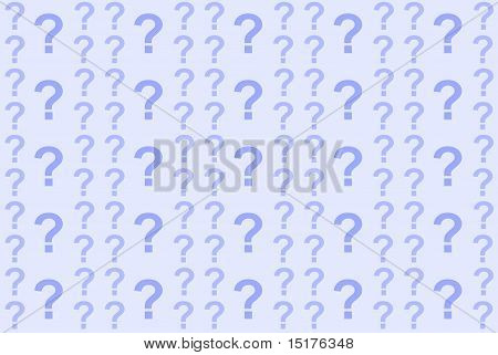 Abstract Background Question Marks