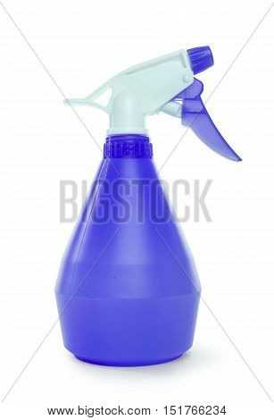 Sprayer for flowers on a white background.