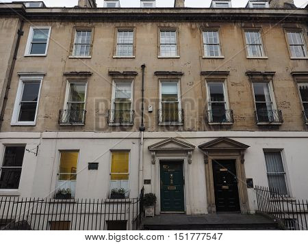 Lord Nelson House In Bath
