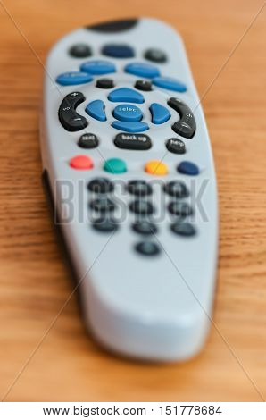 Tv cable remote control equipment technology on the table single one