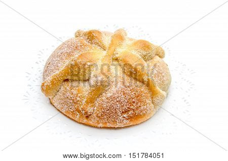 Sweet bread called Bread of the Dead