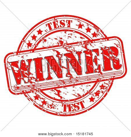Test Winner Stamp