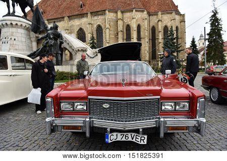 Cadillac Eldorado Vintage Red Car