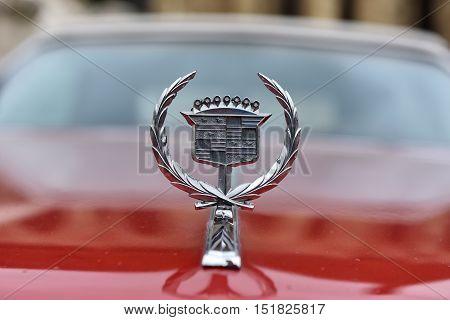 Cadillac Eldorado Sign. Vintage Car