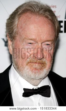 Ridley Scott at the 30th Annual American Cinematheque Awards Gala held at the Beverly Hilton Hotel in Beverly Hills, USA on October 14, 2016.