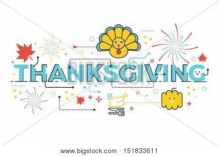 Thanksgiving Holiday Concept