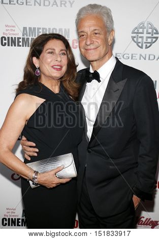 Rick Nicita and Paula Wagner at the 30th Annual American Cinematheque Awards Gala held at the Beverly Hilton Hotel in Beverly Hills, USA on October 14, 2016.