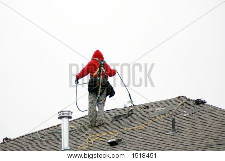 Cautious Roofer
