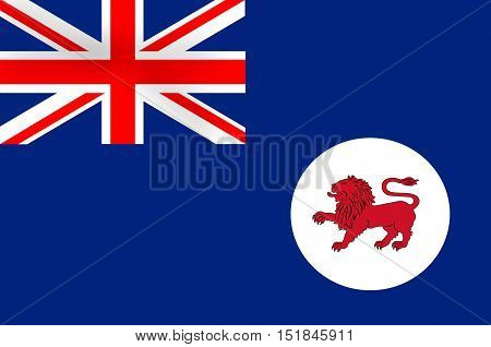 Flag of Tasmania is an island state of the Commonwealth of Australia