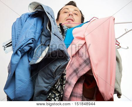 Man With Dirty Cloth