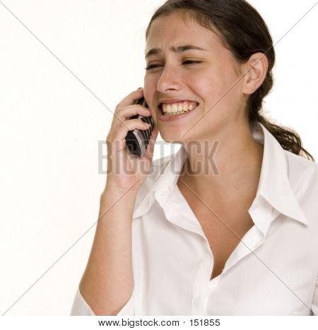 Frustração de telefone