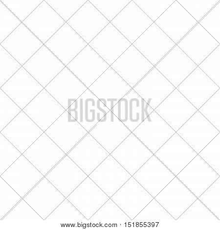 Monochrome Grayscale Geometric Pattern, Background. Seamlessly Repeatable.