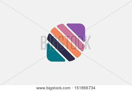 Creative logo design. Minimalistic design element. Simple logo