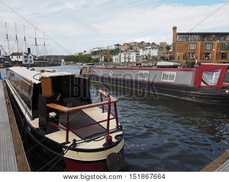 Bristol Harbour In Bristol