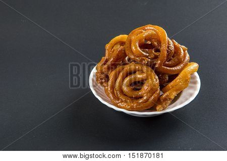 Indian sweet jalebi, indian dessert jalebi or imarti or imarati or jilbi
