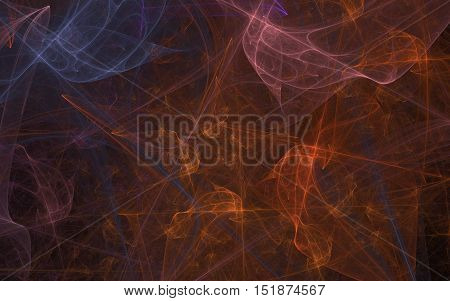 multi colored fractal back ground back drop