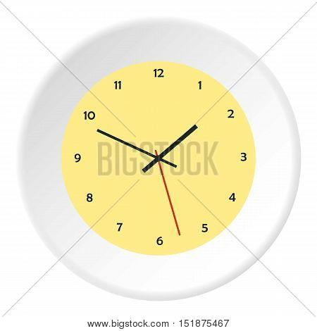 Mechanical watch icon. Flat illustration of mechanical watch vector icon for web