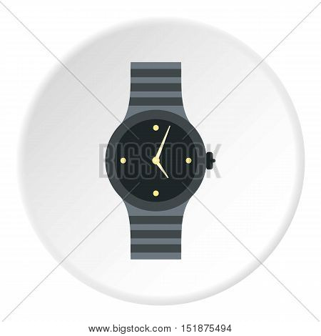 Wrist womens watch icon. Flat illustration of wrist womens watch vector icon for web