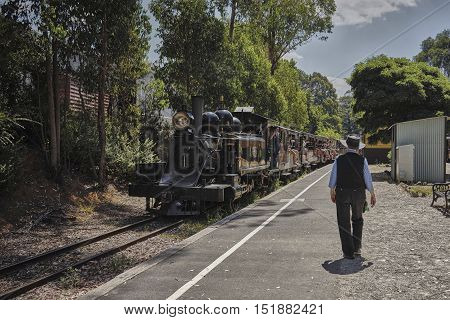 Train rid to nowhere in the hot summer sun