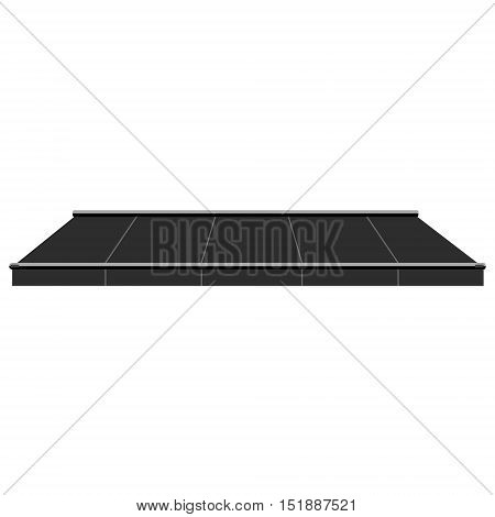 Store Awning Vector