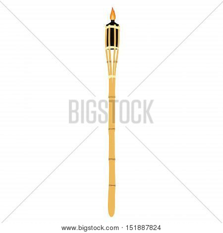 Bamboo Torch Vector