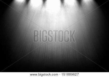 grey wall with spotlight background