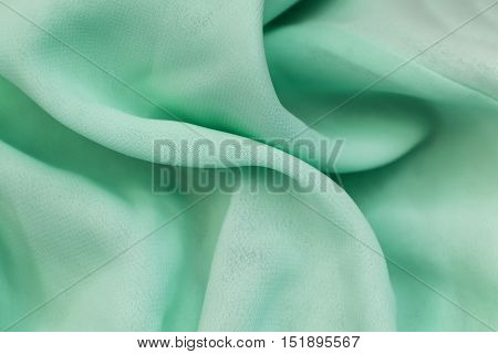 Silk Texture Of Crumpled Tissue In The Crease Pattern For Backgrounds And Textures