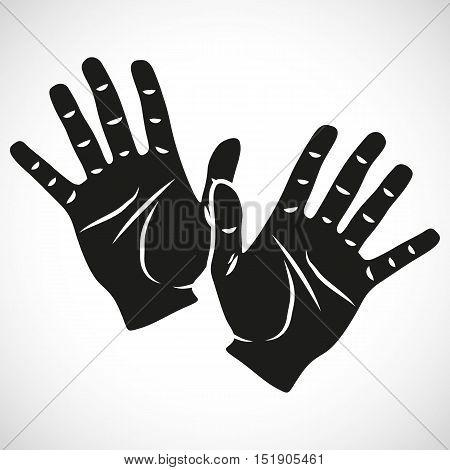 Icon Set Hand Ten