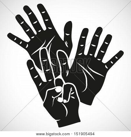 Icon Set Hand Twelve