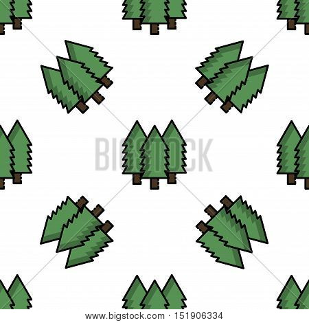 Hunting icon pattern. Flat style. Vector illustration EPS 10