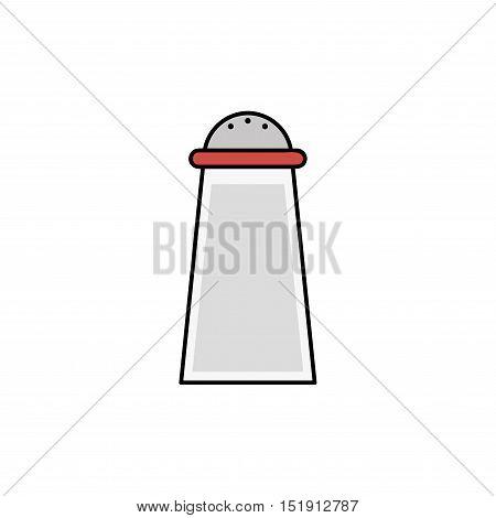Kitchen icon. Saltwort. Kitchen items in flat style