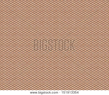 Fishnet stockings pattern on a pale skin texture illustration