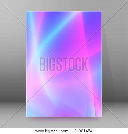 Background Report Brochure Cover Pages A4 Style Abstract Glow12