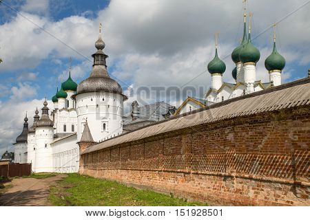 View Church monastery of Russia against the sky