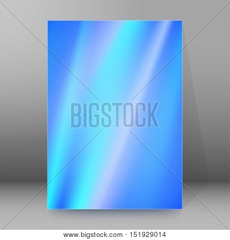 Background Report Brochure Cover Pages A4 Style Abstract Glow29