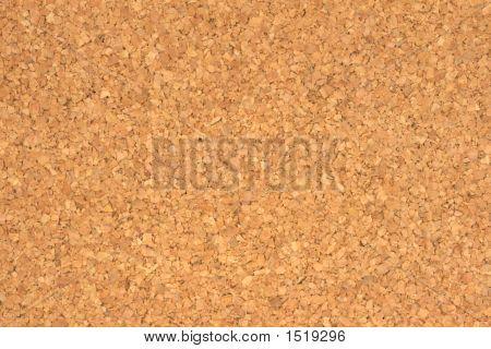 Cork Board Textur hautnah