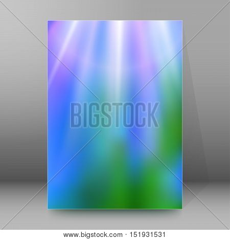 Background Report Brochure Cover Pages A4 Style Abstract Glow41